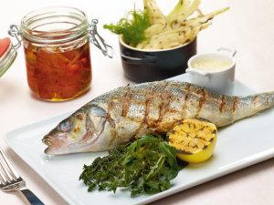 Fisch Loup de Mer